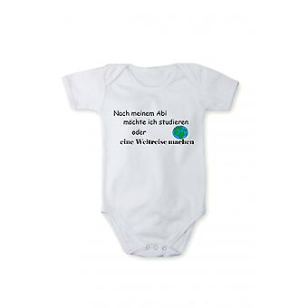 With pressure after my ABI, I want baby bodysuits in different languages