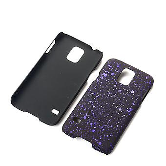 Cell phone cover case bumper shell for Samsung Galaxy S5 / S5 neo 3D star purple