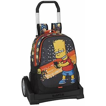 SAFTA Mochila 665 Con Carro Evolution Simpsons tekniken