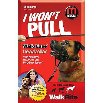 Mikki Walk Ease Headcollar Xlge