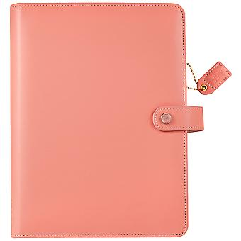 Crush A5 simili-cuir planificateur 6-Ring Binder de couleur 7.5