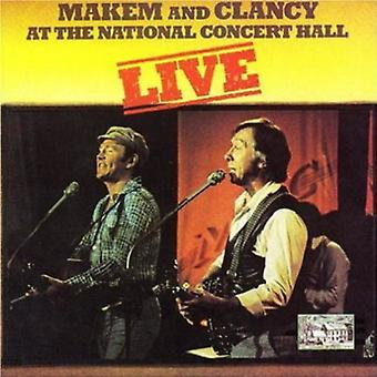 Makem & Clancy - Live-National Concert Hall [CD] USA import