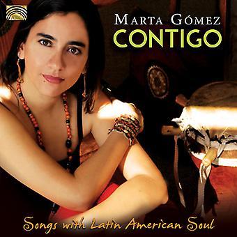 Marta Gomez - Contigo-canzoni con l'importazione in Stati Uniti America latina anima [CD]