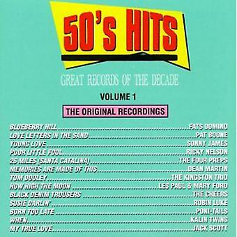 Great Records of the Decade - Great Records of the Decade: Vol. 1-50's Hits [CD] USA import