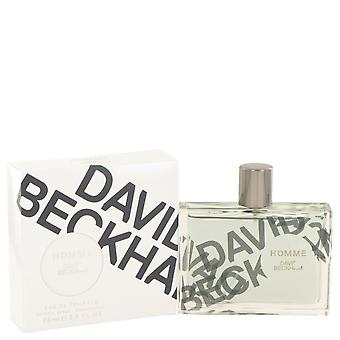 David Beckham Men David Beckham Homme Eau De Toilette Spray By David Beckham