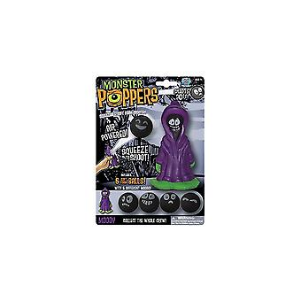 Cheatwell Games Moody Monster Squeeze Popper - Shooter de mousse souple