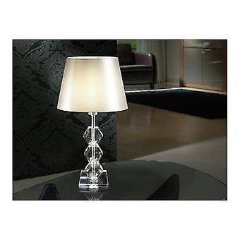 Schuller Corinto Clear Table Lamp, 1L