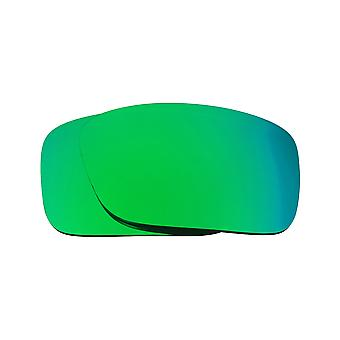 Best SEEK Polarized Replacement Lenses for Oakley CRANKCASE Green Mirror