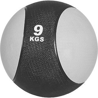Medizinball aus Gummi 9 kg