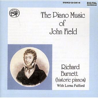 Richard Burnett - The Piano musik af John Field [CD] USA import