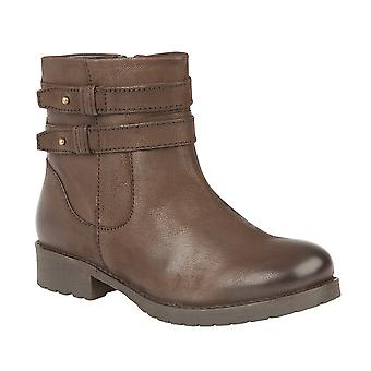 Lotus Heckle Boots In Brown Leather