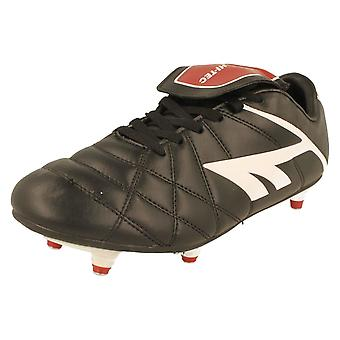 Boys Junior Hi-Tec Football Boots League Pro SI Lace JR