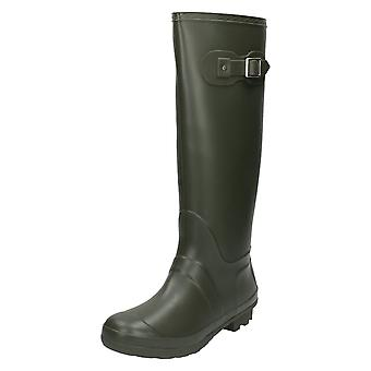 Ladies Spot On Wellington Boots