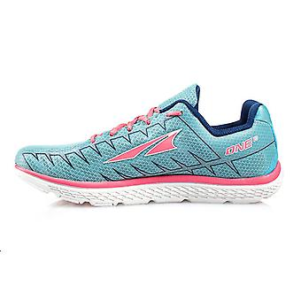 Altra The One V3 Womens Shoes Blue/Pink