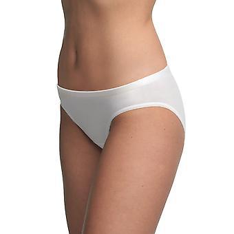 BlackSpade 1575 Women's Ladies Essentials White Briefs Knickers Bikini