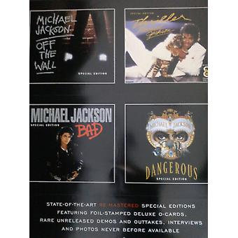 Michael Jackson Greatest Hits History Poster