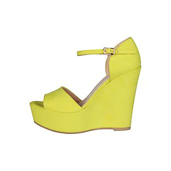 Made in Italia Women Wedges Yellow