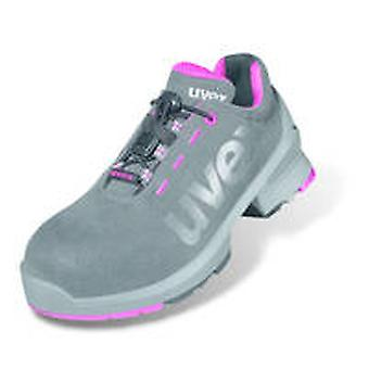 Uvex 8562.8 1 Size 5 Ladies Safety Trainers S2 Grey/Pink