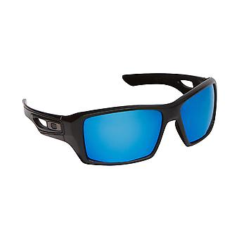Eyepatch 2 Replacement Lenses Polarized Grey & Blue by SEEK fits OAKLEY