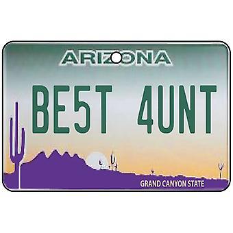 Arizona - beste tante License Plate auto luchtverfrisser