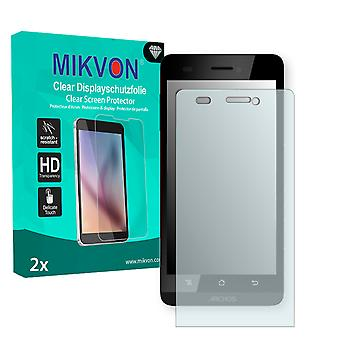 Archos 50 Helium 4G Screen Protector - Mikvon Clear (Retail Package con accessori)