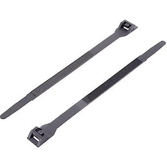 Cable tie 132 mm Black KSS 1091157
