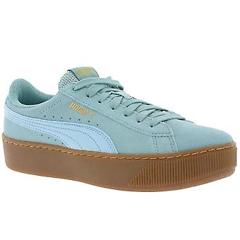 PUMA sneaker women's Creepers Vikky platform Turquoise