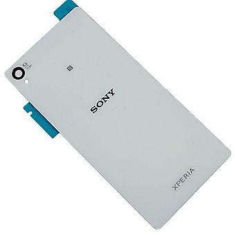 Voor Sony Xperia Z4 Batterij Cover - achterkant - Wit- originele kwaliteit