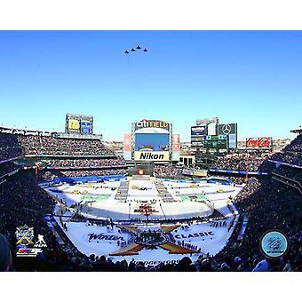 Citi Field 2018 NHL Winter Classic Fotoabzüge