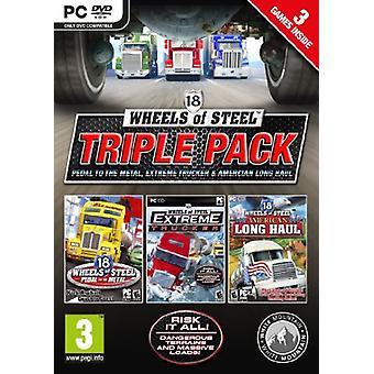 18 Wheels of Steel - Triple Pack (PC-DVD)