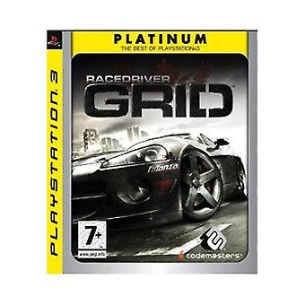 Race Driver GRID - platin udgave (PS3)