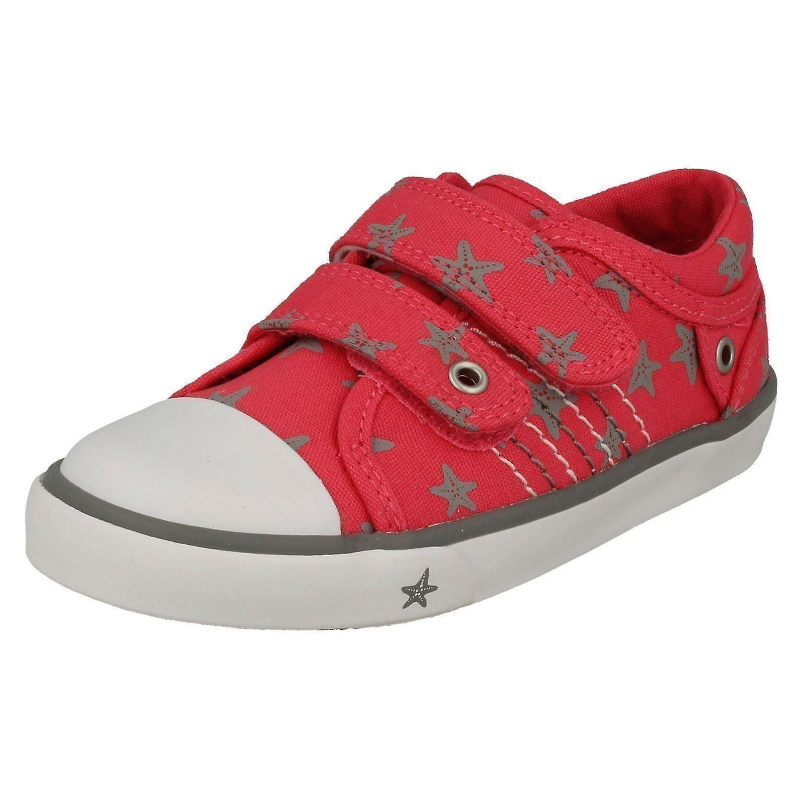 Childrens Boys/Girls Startrite Casual Shoes Zip - Pink 11.5F Canvas - UK Size 11.5F Pink - EU Size 30 - US Size 12.5 3c3ccd