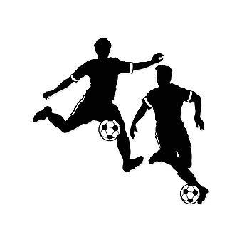 Silhouettes de garçon Football 27½» & 28