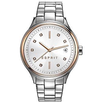 ESPRIT ladies watch Caroline silber wristwatch stainless steel ES108552001