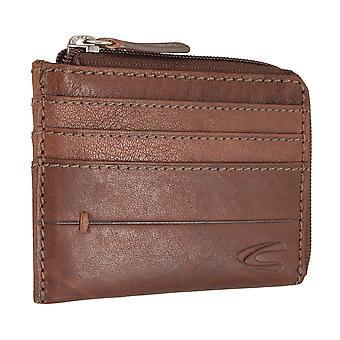 active Jakarta camel men credit card case card holder leather case Brown 6716