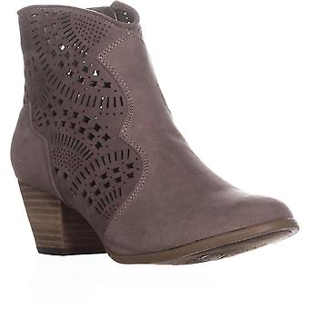 Carlos By Carlos Santana Hayden Perforated Ankle Boots, Doe, 9 UK