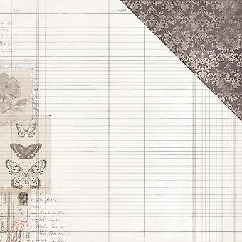 Pen & Ink Double-Sided Cardstock 12