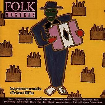 De meesters van het Folk - Folk Masters-grote prestaties [CD] USA importeren