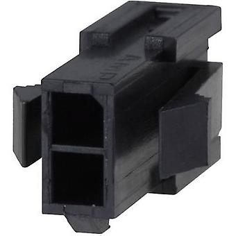 TE Connectivity Pin enclosure - cable Micro-MATE-N-LOK Total number of pins 16 Contact spacing: 3 mm 1-794615-6 1 pc(s)
