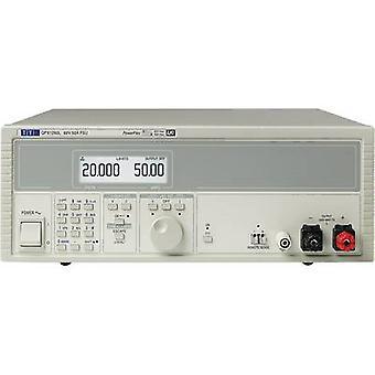 TTi の QPX1200S ベンチ PSU (調節可能な電圧) を目指して 0 - 60 Vdc 0 - 50 1200 W 号出力の 1 x