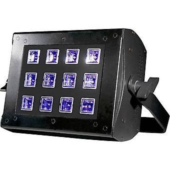 UV floodlight ADJ UV FLOOD 36 LED 36 W Black