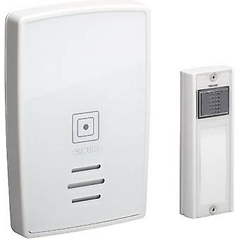Wireless door chime Complete set incl. nameplate Grothe 43251 Polo