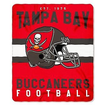 Tampa Bay Buccaneers NFL Northwest Team Stripe Fleece Throw