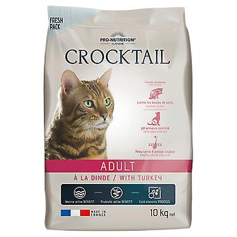 Flatazor Food for Cats Crocktail Adult With Turkey (Cats , Cat Food , Dry Food)