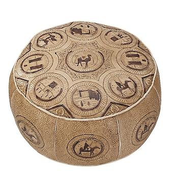 Seat cushion Pouffe leather cushion ORIENT Oriental cushion leather