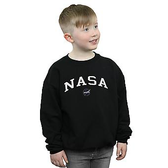 NASA Boys Collegiate Logo Sweatshirt