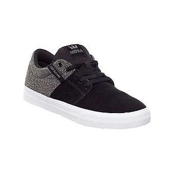 Supra Black-Black Stacks II Vulc Shoe