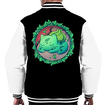 Bulbasaur skjult gress Ball Pokemon menn Varsity jakke