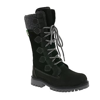 Kamik waterproof children fall boots with lining black