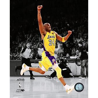 Kobe Bryant Game Seven of the 2010 NBA Finals Spotlight Action (#36) Photo Print (8 x 10)
